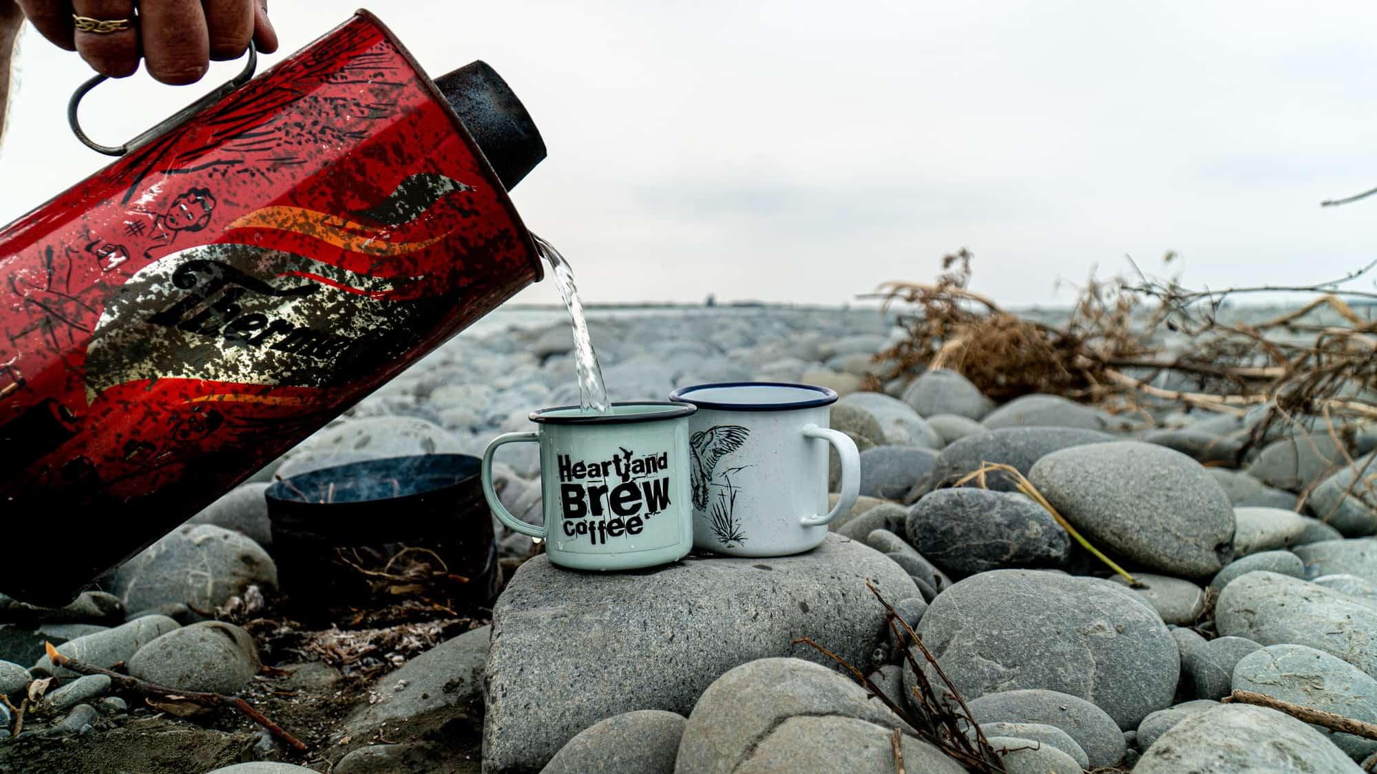 Heartland Brew Coffee in the wild